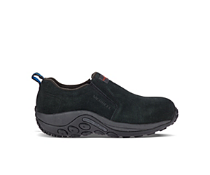 Jungle Moc Alloy Toe Work Shoe, Black, dynamic