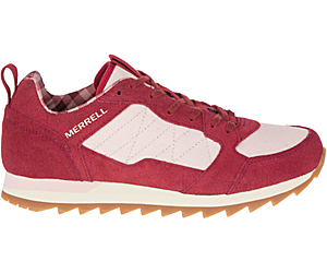 Alpine Sneaker, Syrah Plaid, dynamic