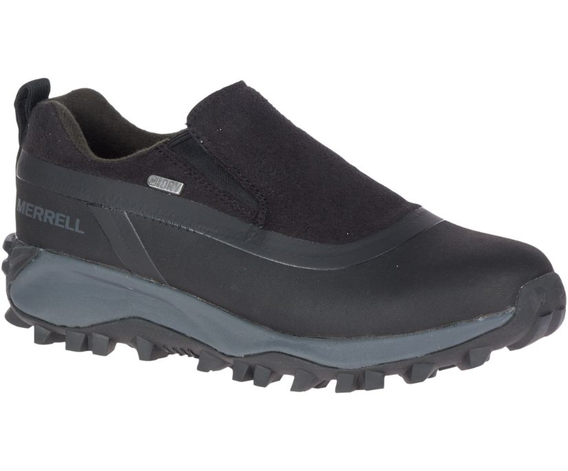 Thermo Snowdrift Moc Shell Waterproof, Black, dynamic