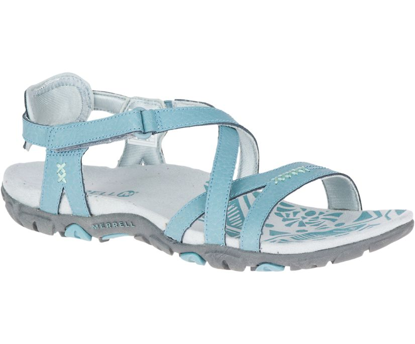 Sandspur Rose Leather, Blue Smoke, dynamic