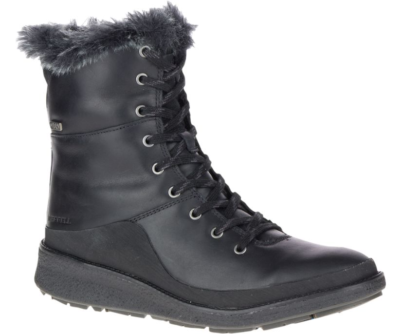 Tremblant Ezra Lace Waterproof Ice+, Black, dynamic