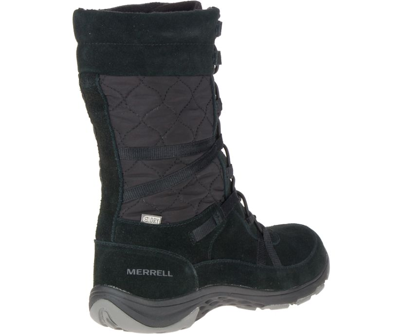 Approach Tall Leather Waterproof, Black, dynamic