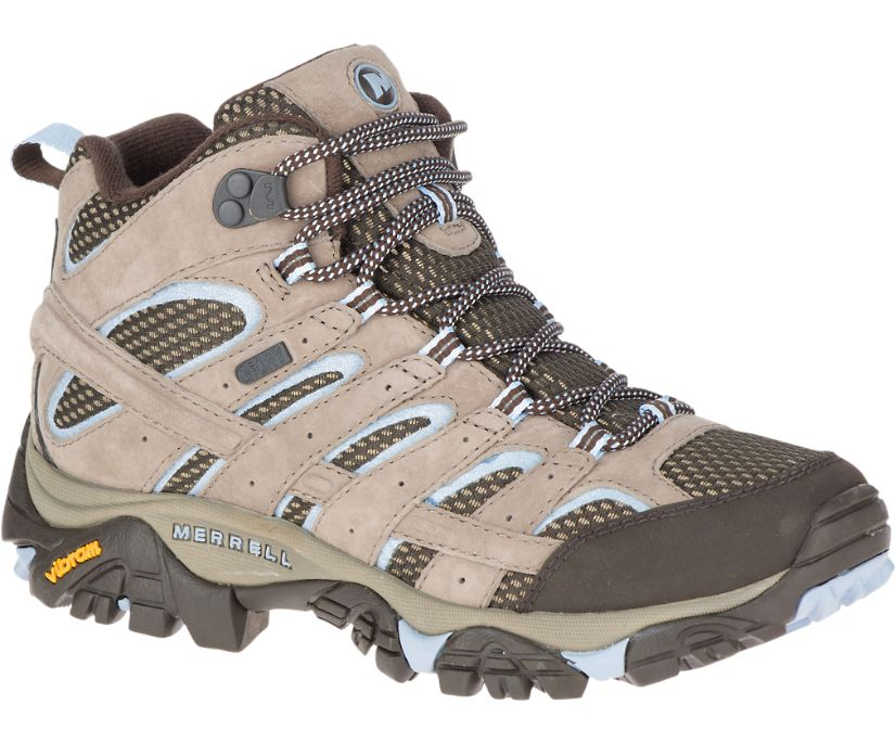 Moab 2 Mid Waterproof, Brindle, dynamic