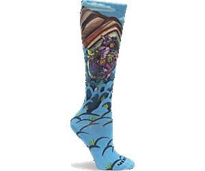 Rainbow Mountain Sock, Rainbow, dynamic