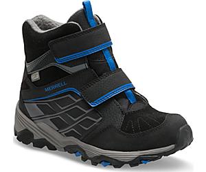 Moab FST Polar Mid A/C Waterproof Boot, Black, dynamic