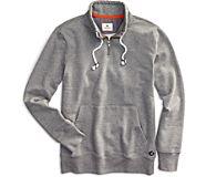 Quarter Zip Sweatshirt, Grey, dynamic