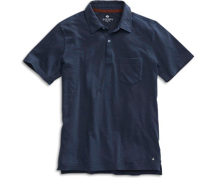 Polo Shirt, Navy, dynamic