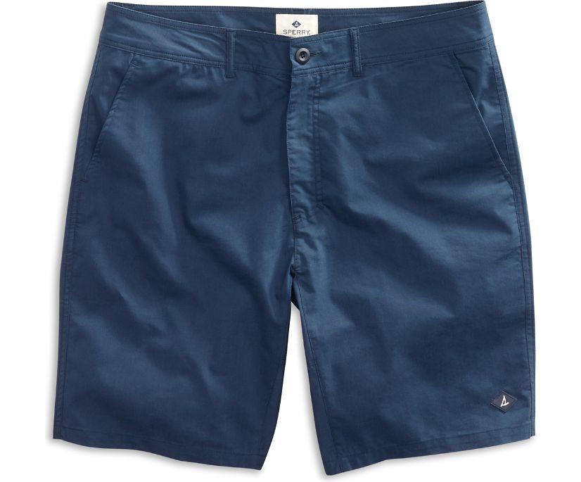 Solid Swim Short, Navy, dynamic