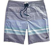 Variegated Stripe Board Short, Navy Blazer, dynamic