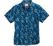 Diver Print Button-Down Shirt, Multi, dynamic