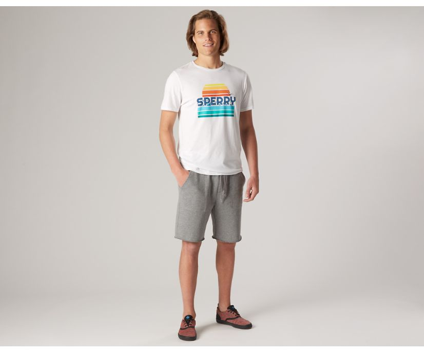 Drifter Horizon T-Shirt, White Multi, dynamic