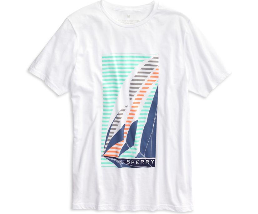 Wing Sailboat T-Shirt, White Multi, dynamic
