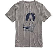 Starboard Sail T-Shirt, Grey, dynamic