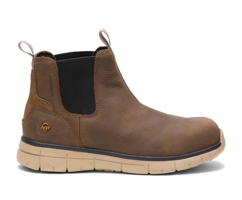Rigger Romeo Work Boot, Brown, dynamic