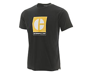 C Block Logo Tee, Pitch Black, dynamic