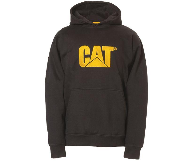 Trademark Hooded Sweatshirt, Black, dynamic