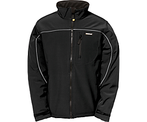 Soft Shell Jacket, Black, dynamic