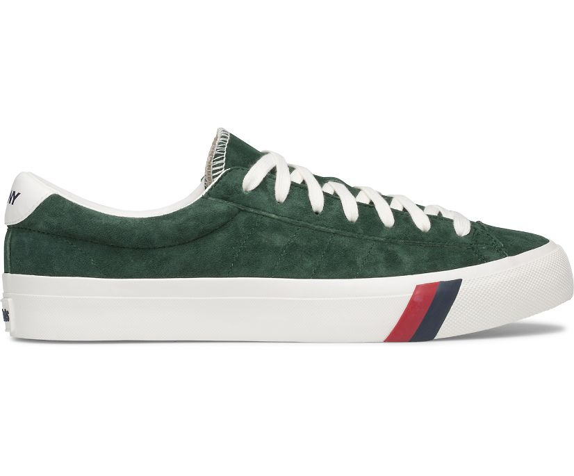 Royal Plus Only NY Suede, Hunter Green, dynamic