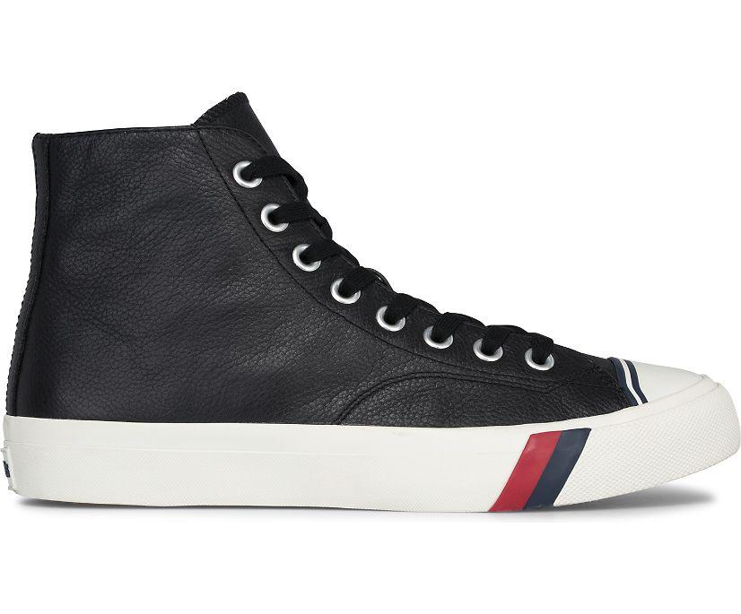 Unisex Royal Hi Leather, Black, dynamic
