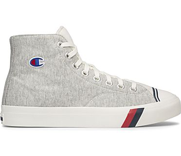 PRO-Keds x Champion® Unisex Royal Hi, Gray, dynamic