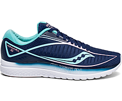 Kinvara 10, Navy | Mint, dynamic