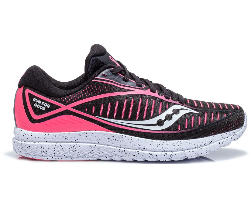 With Love Kinvara 10, Black | Pink, dynamic