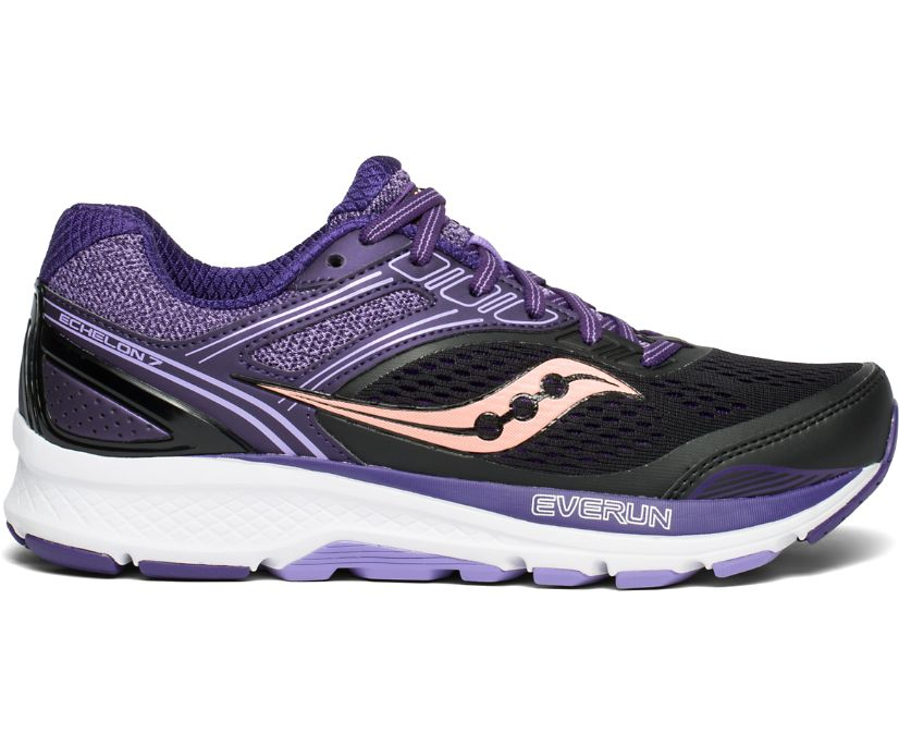 Echelon 7, Black | Purple, dynamic