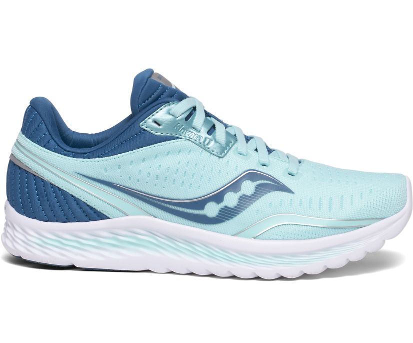 Kinvara 11, Aqua | Blue, dynamic