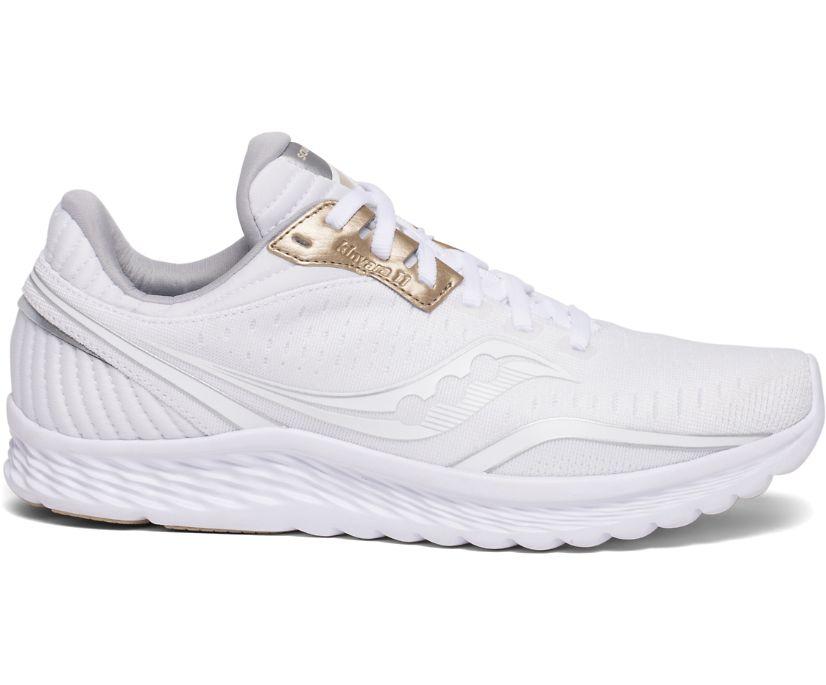 Kinvara 11, White, dynamic
