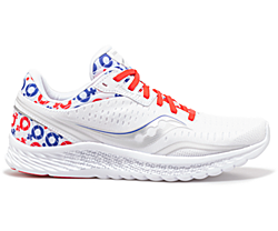 Kinvara 11, White | Red | Blue, dynamic