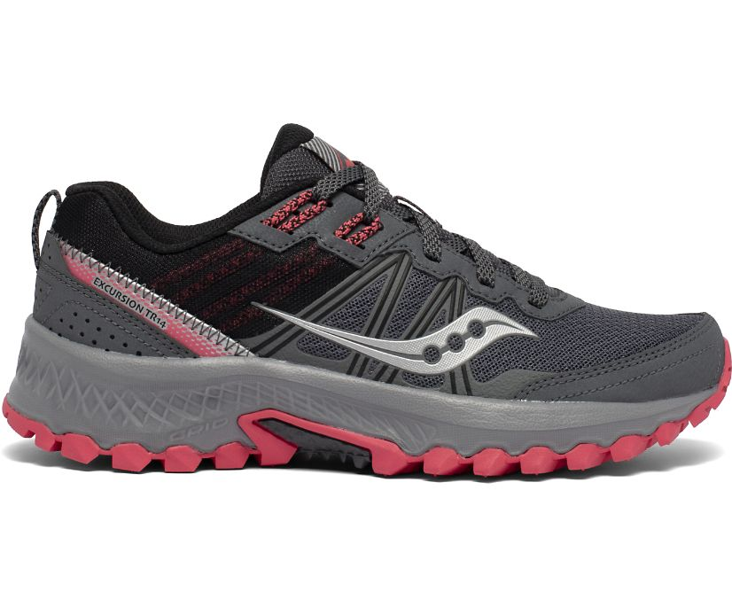 Excursion TR14, Charcoal | Coral, dynamic