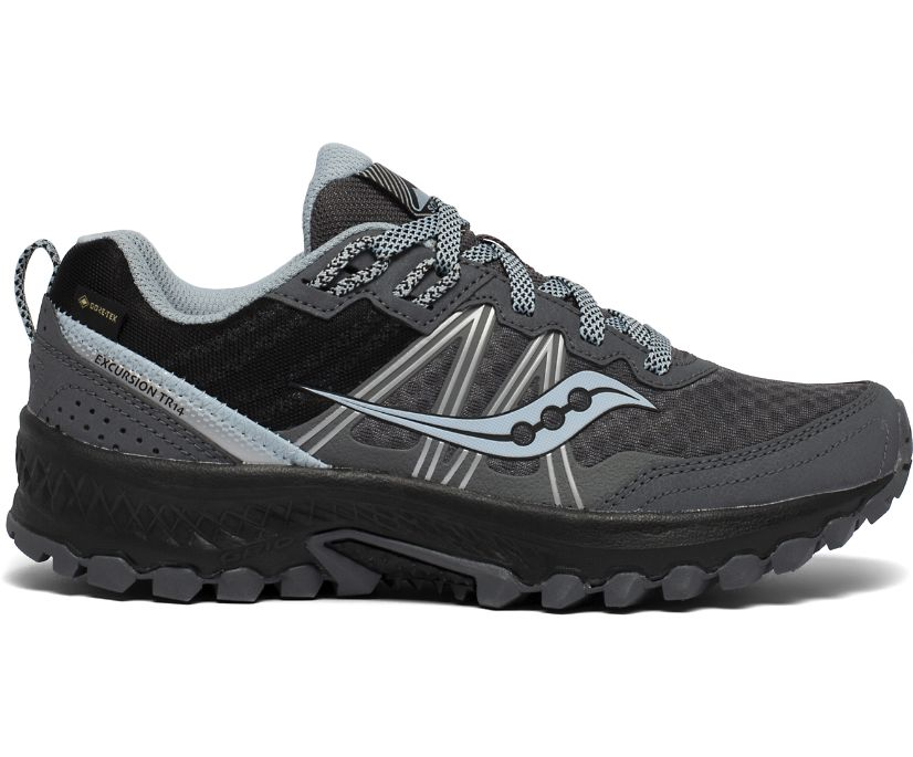 Excursion TR14 GTX, Charcoal | Blue, dynamic