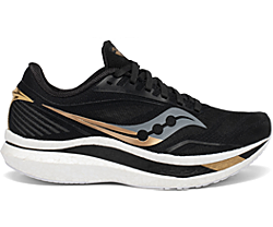 Women's Endorphin Speed, Black | Gold, dynamic