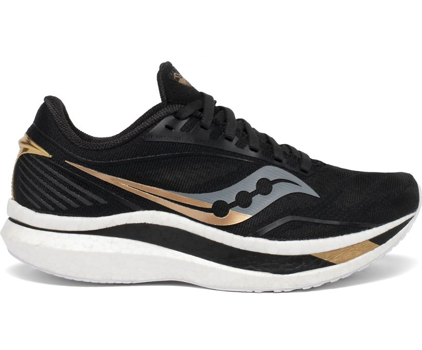 Damen Endorphin Speed, Black | Gold, dynamic