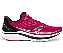Kinvara 12 Wide, Cherry | Silver, dynamic
