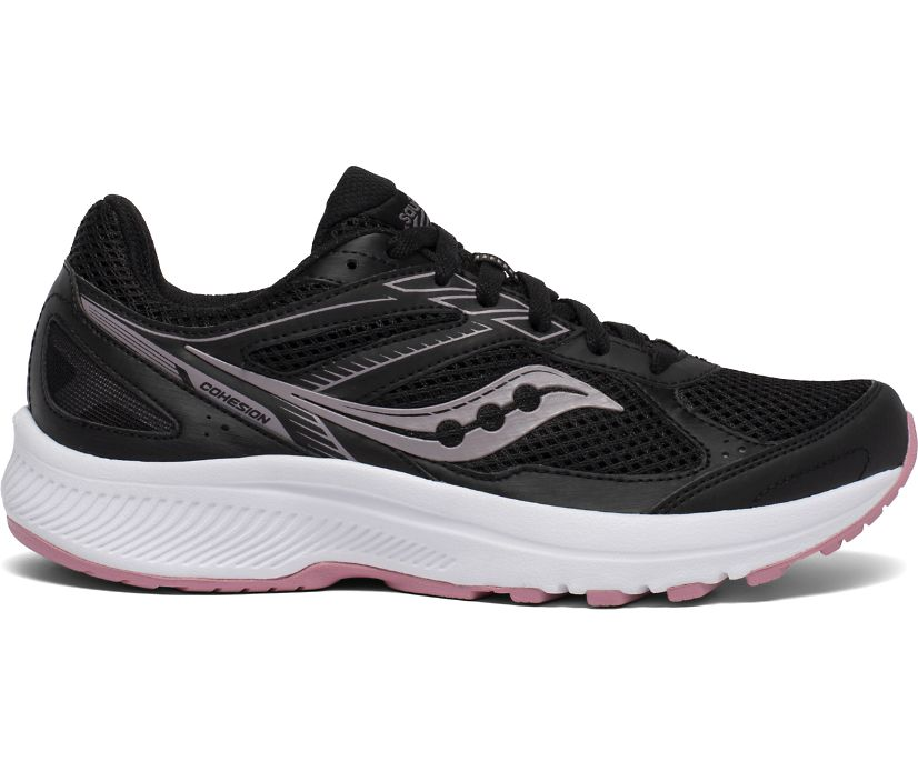 Cohesion 14 Wide, Black | Pink, dynamic