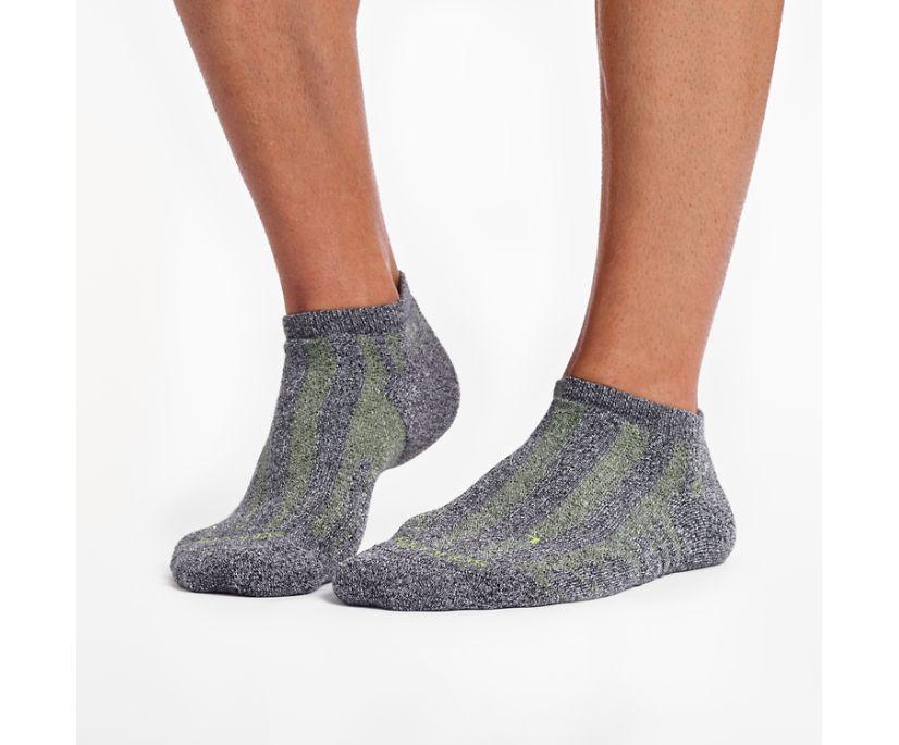 Ventilator No Show Tab 1 Pack Sock, Black | White Marl, dynamic