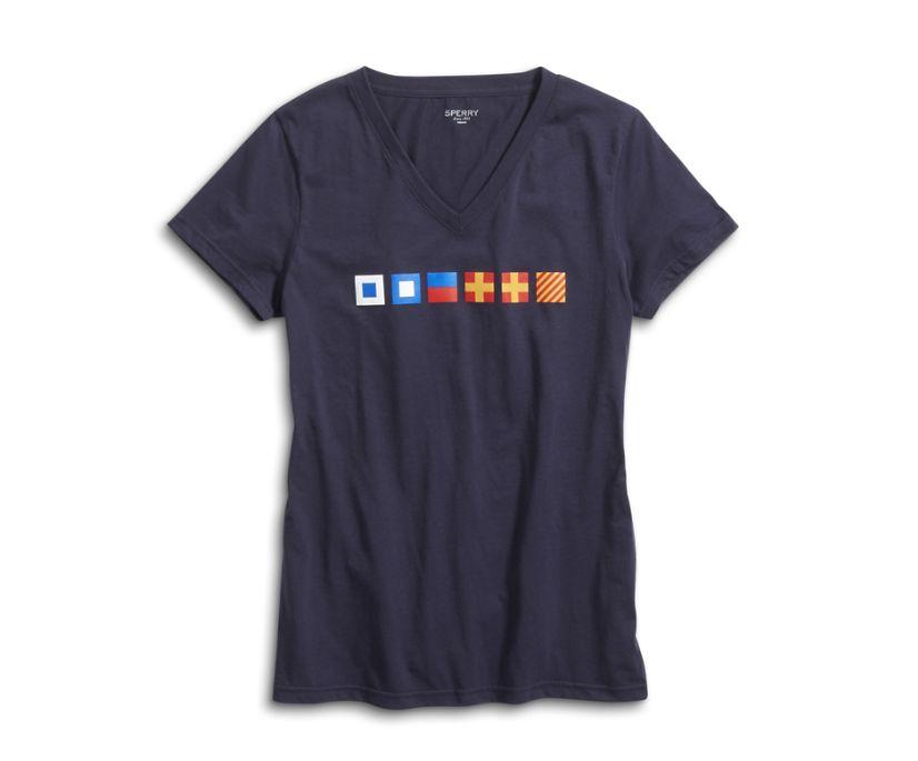 Signals 1 T-Shirt, Navy, dynamic