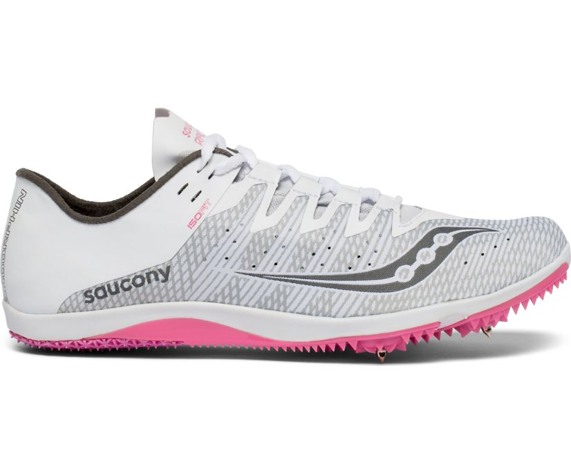 Endorphin 2, White | Pink, dynamic