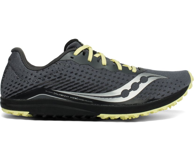 Kilkenny XC8 Spike, Black | Green, dynamic