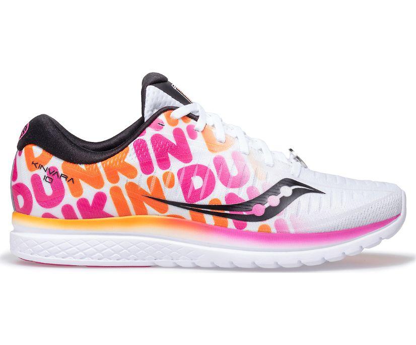 Saucony X Dunkin' Kinvara 10, White, dynamic