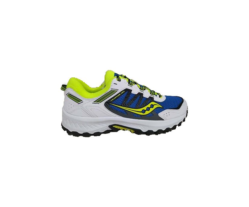 Excursion TR13, Blue | Citron | Black, dynamic