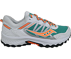 Excursion TR13, White | Orange | Aqua, dynamic
