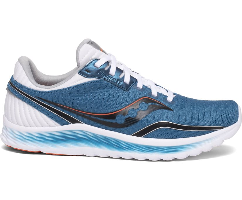 Kinvara 11, Blue | Black, dynamic