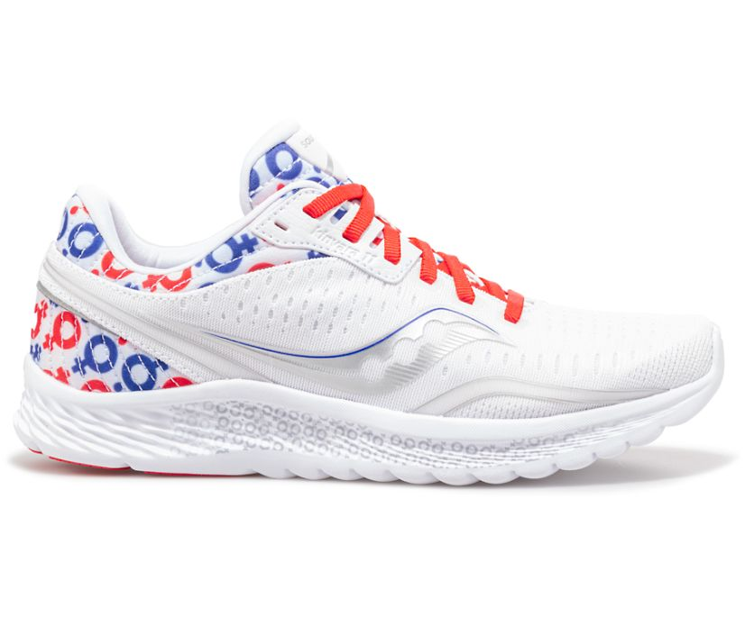 Hero Kinvara 11, White | Red | Blue, dynamic