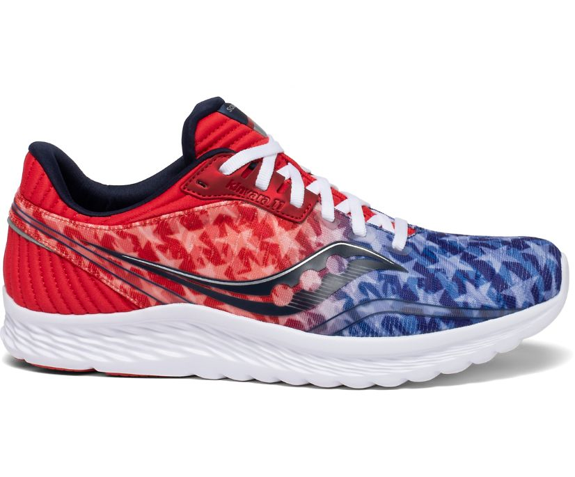 Kinvara 11, Red | White | Blue, dynamic