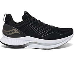 Men's Endorphin Shift, Black | White, dynamic