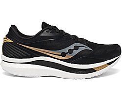 Men's Endorphin Speed, Black | Gold, dynamic