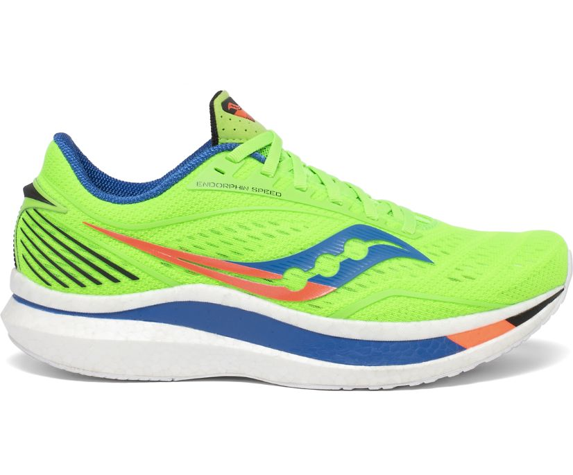 Endorphin Speed, Green | Blue, dynamic