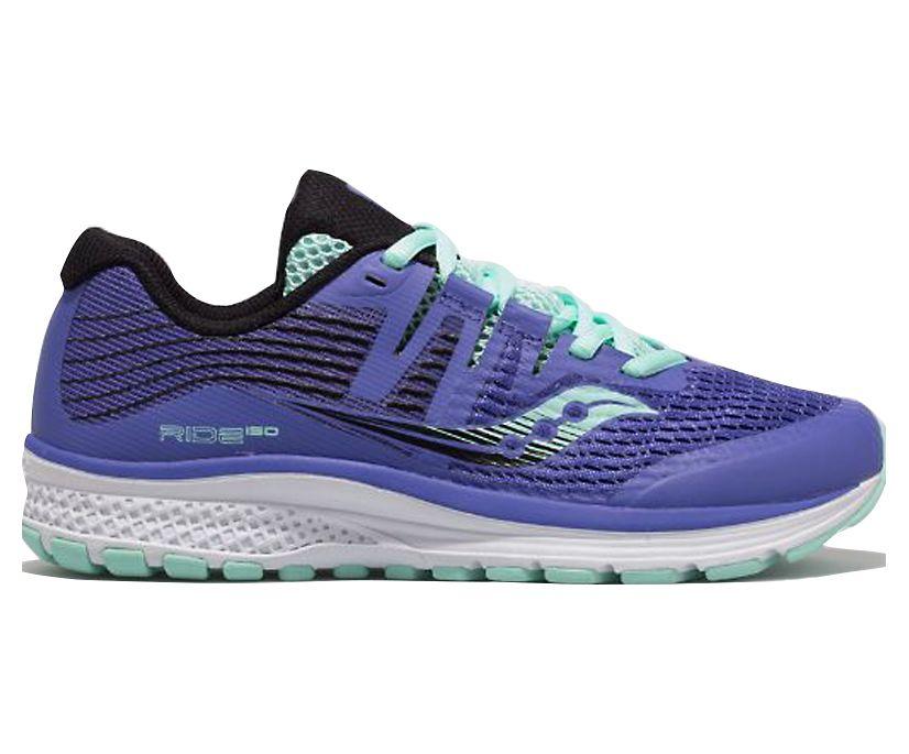 Ride ISO Sneaker, Violet | Black | Aqua, dynamic